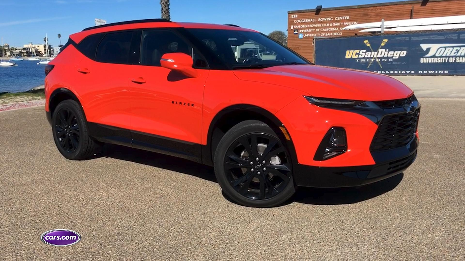 2019 Chevrolet Blazer First Drive Cars Com Video