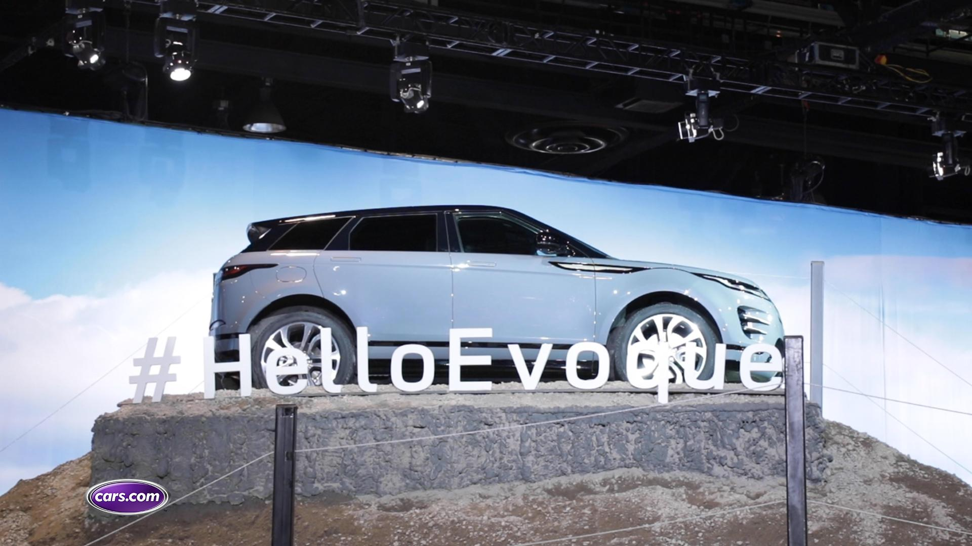 Video: 2020 Land Rover Range Rover Evoque: First Look — Cars.com