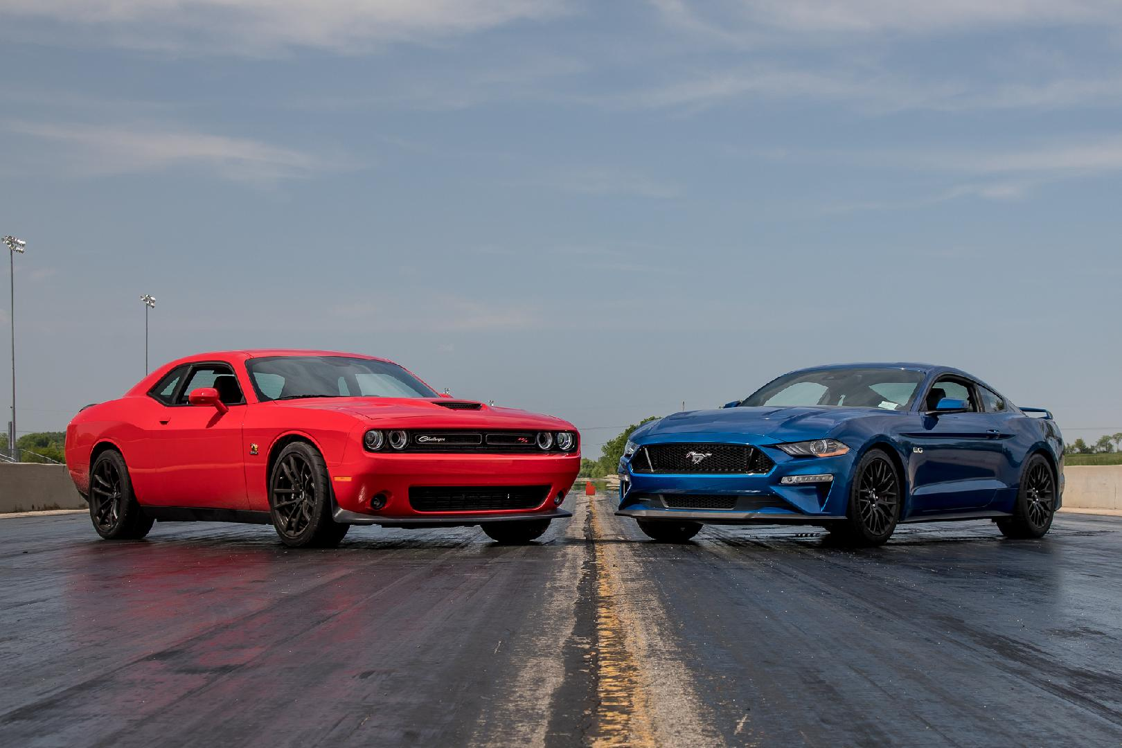 Video: Dodge Challenger R/T Scat Pack 1320 Vs. Ford Mustang GT — Cars.com
