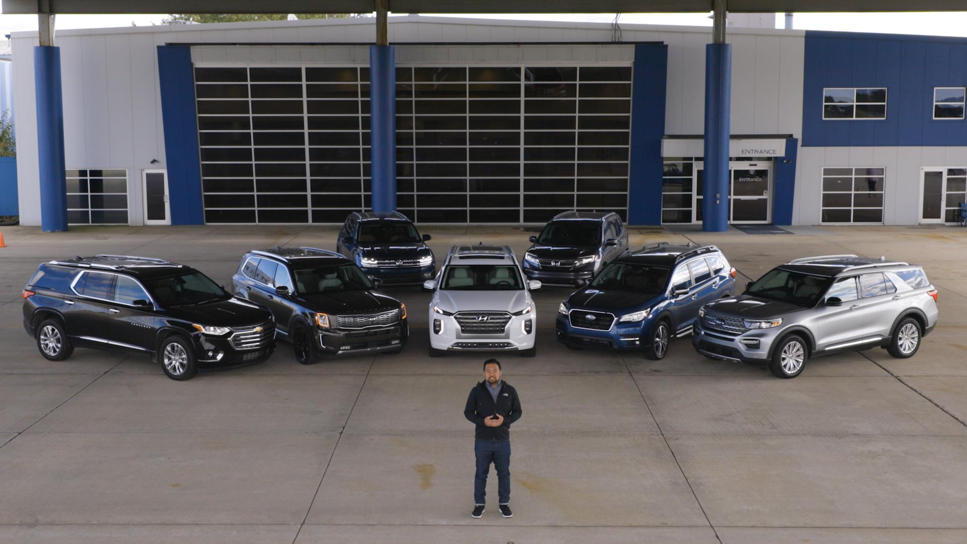 Video: 2020 3-Row SUV Challenge — Cars.com
