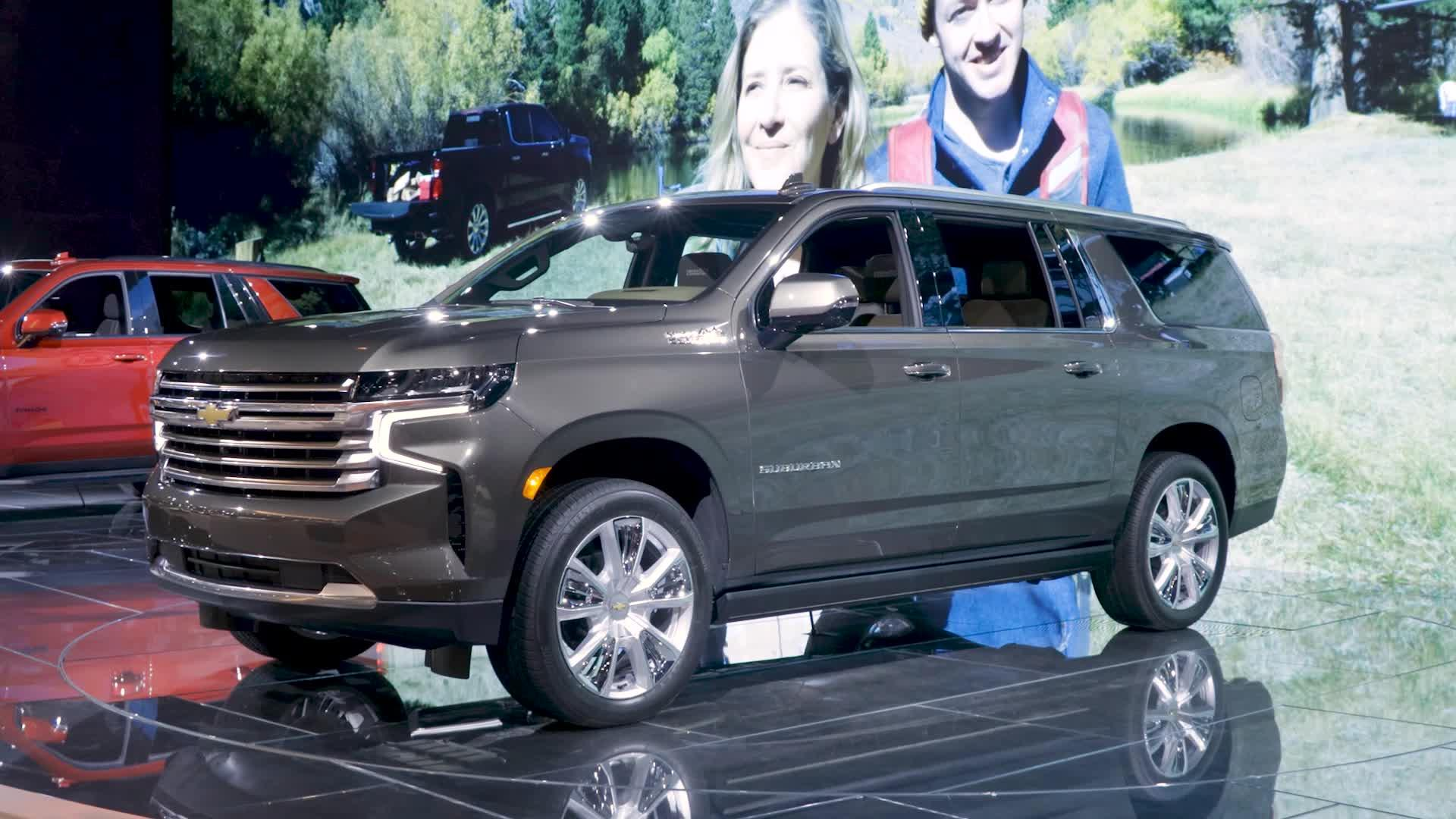 Video: 2021 Chevrolet Suburban and Tahoe: First Impressions — Cars.com