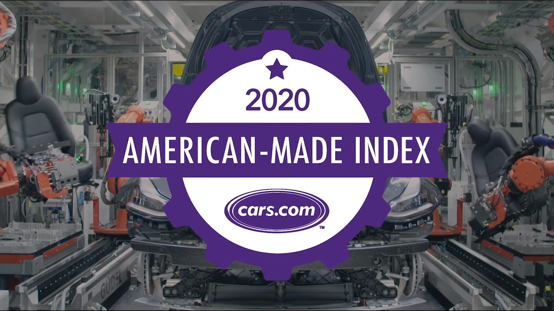 American Made Index Most American Cars Cars Com