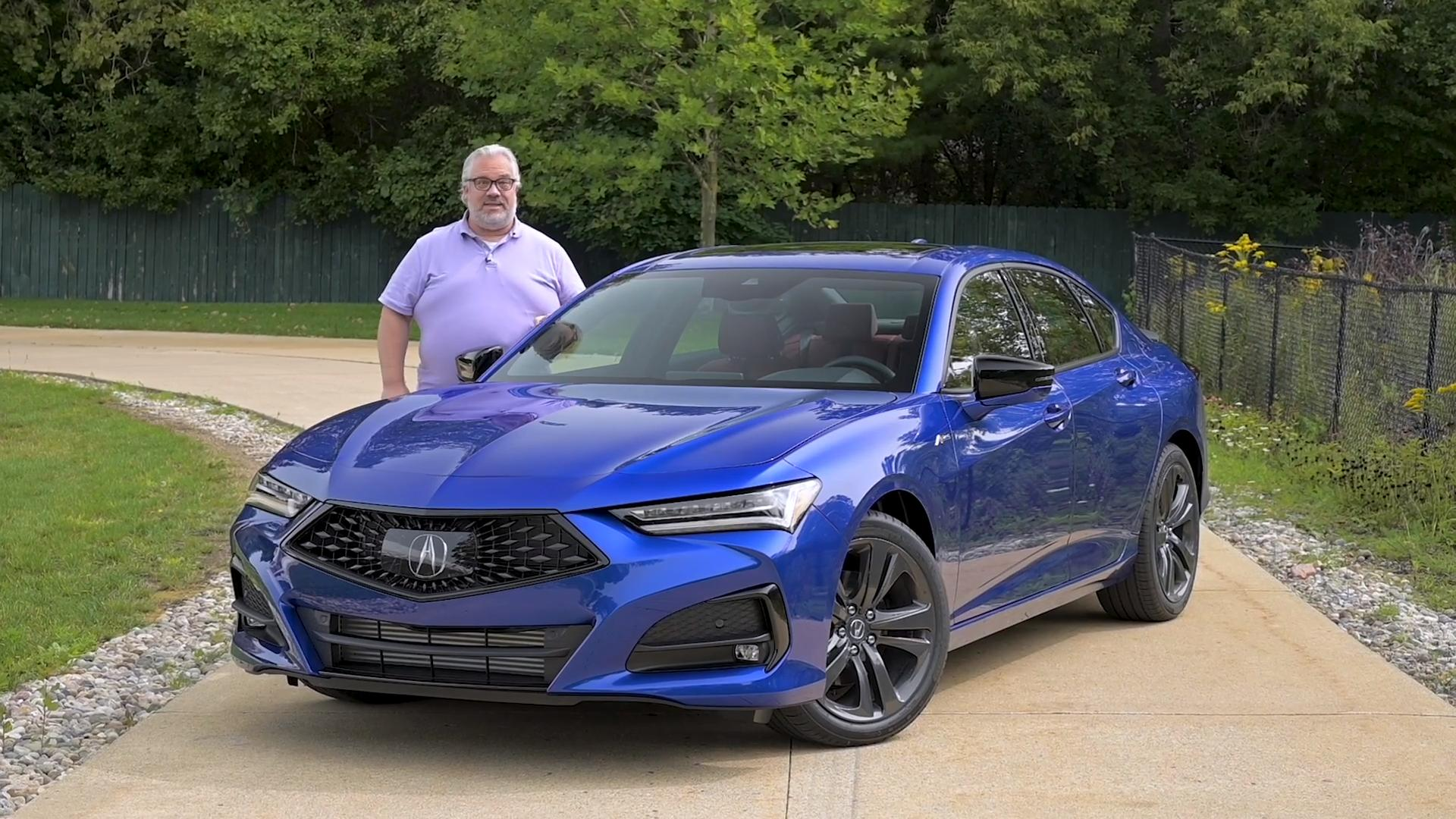 Video: 2021 Acura TLX: First Drive — Cars.com