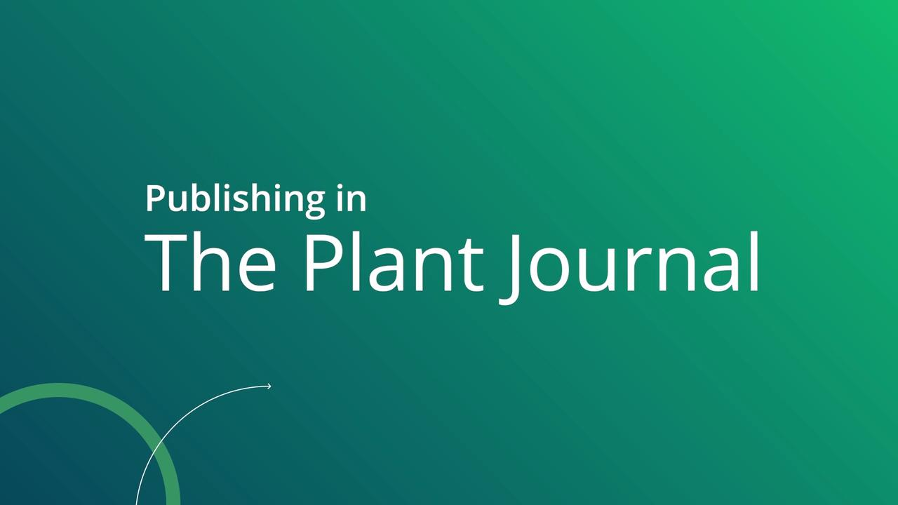 The Plant Journal - Wiley Online Library
