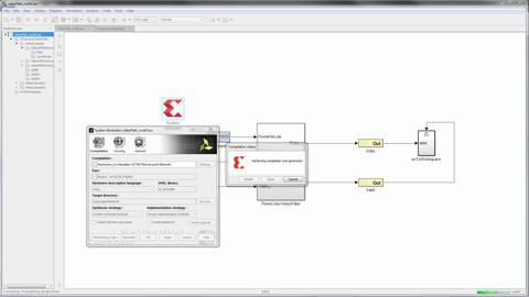 Using Hardware Co-Simulation with Vivado System Generator