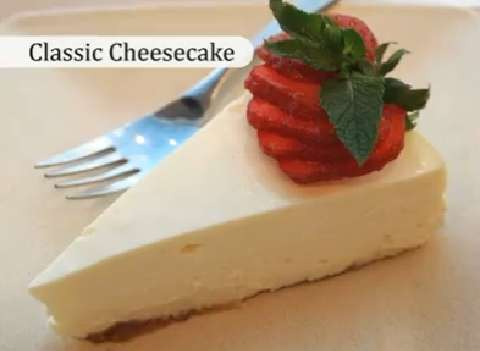 The Canadian Living Classic Cheesecake recipe