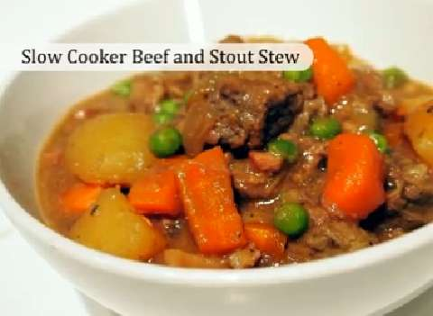 Slow Cooker Beef and Stout Stew