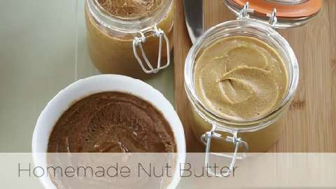 How to make your own nut butters