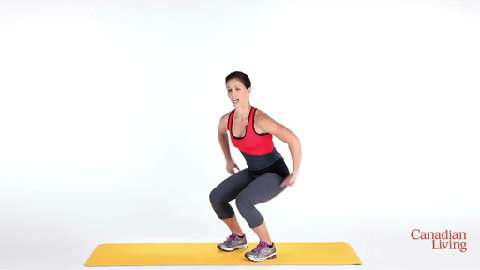 3 squat exercises