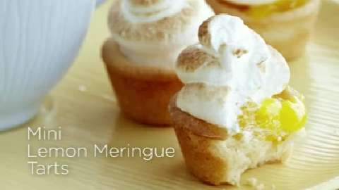 How to make Mini Lemon Meringue Tarts