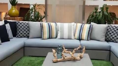 How to mix and match your patio décor