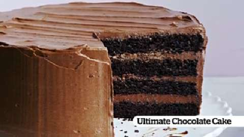 How to make our Ultimate Chocolate Cake
