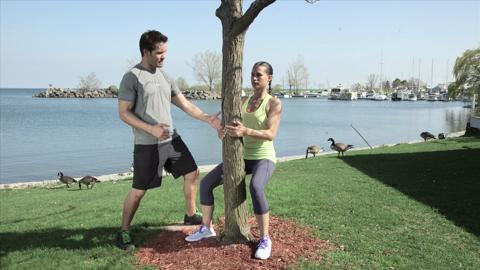 A thigh workout you can do anywhere