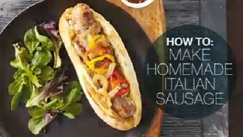How to make homemade Italian sausages
