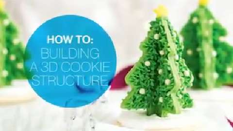 How to build a 3D cookie structure
