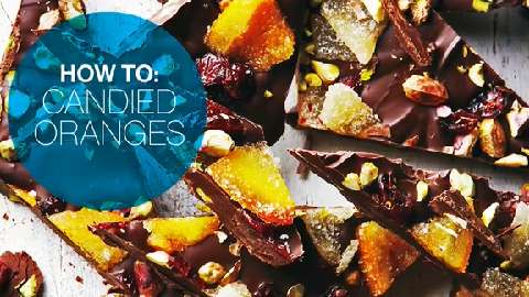 How to make candied oranges
