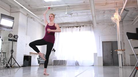 Total body workout: Ballet barre fitness