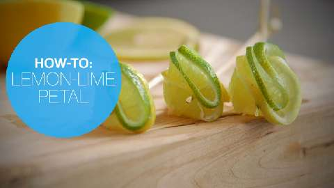 How to make a double citrus twist