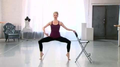 Ballet barre ultimate leg workout