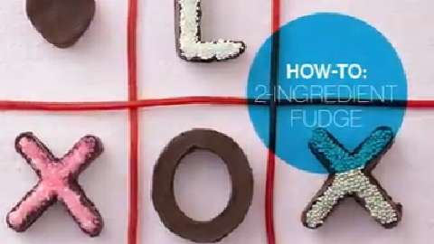 How to make Two-Ingredient Fudge