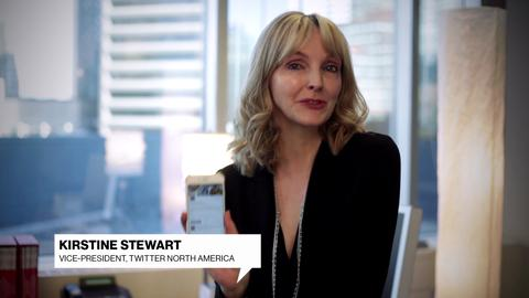 Kirstine Stewart wishes Canadian Living a happy anniversary