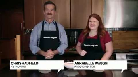 In the Test Kitchen with Chris Hadfield