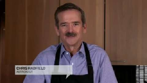 Chris Hadfield wishes Canadian Living a happy anniversary
