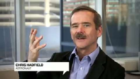 Chris Hadfield: Set a big goal and then set priorities today