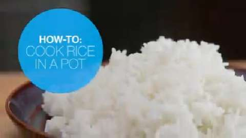 How to cook rice in a pot perfectly