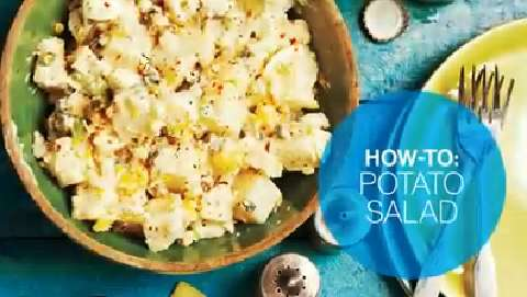 How to make potato salad