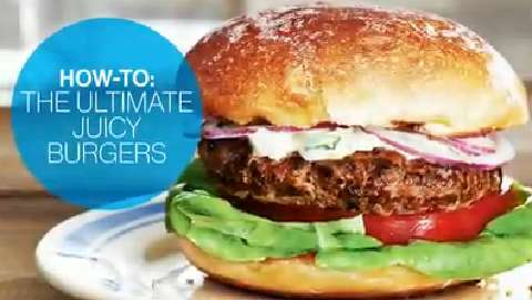How to make the ulitmate juicy burgers