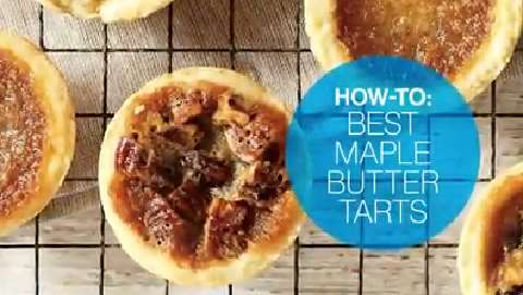 How to make the best maple butter tarts