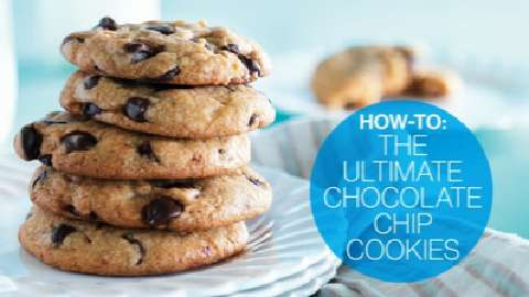 How to make the Ultimate Chocolate Chip Cookies