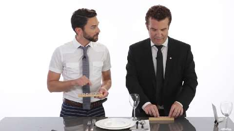 Making party-perfect place cards with Rick Mercer