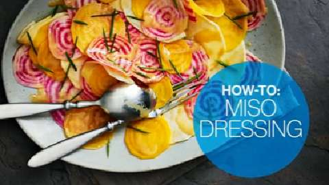 How to make miso dressing