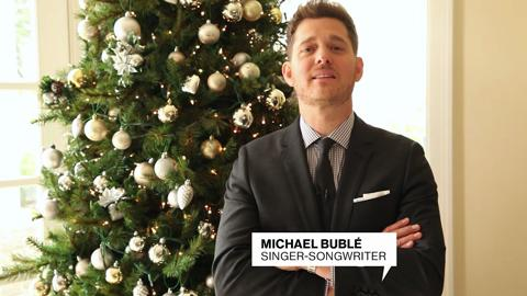 Happy anniversary from Michael Buble