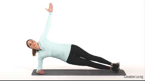 Side plank with hip drop: A dynamic core exercise