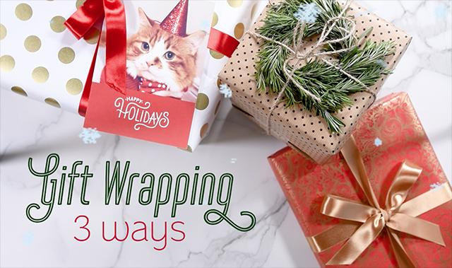 3 Ways To Gift Wrap Like A Pro This Holiday