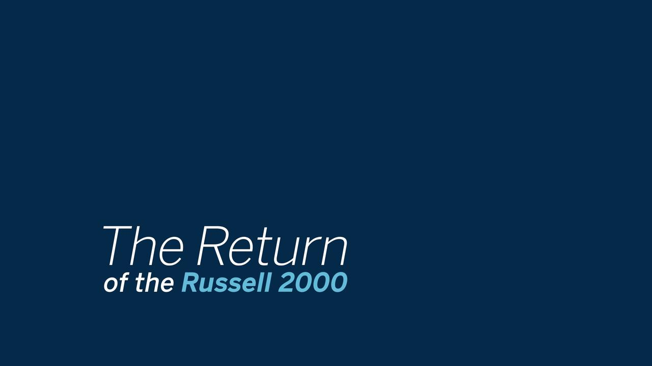 Ftse Russell Index Futures
