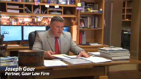 Joseph Gaar, Lafayette Personal Injury Attorney