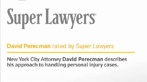 David Perecman, New York Personal Injury Attorney