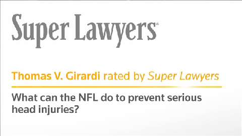 What Can the NFL Do to Prevent Serious Head Injuries?
