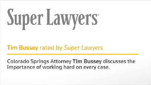 Timothy Bussey, Colorado Springs DUI Defense Attorney