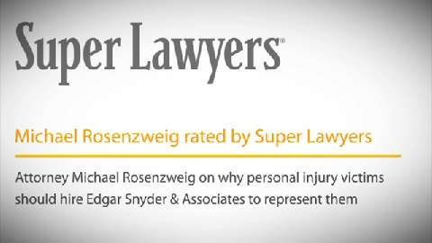 Michael Rosenzweig, Pittsburgh Personal Injury Attorney