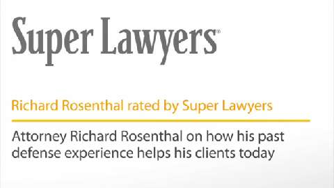 Richard Rosenthal, Pittsburgh Injury & Accident Attorney