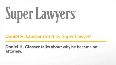 Attorney Daniel Glasser- Pennsylvania Super Lawyers