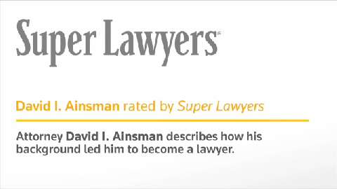 David Ainsman, Pittsburgh Injury & Accident Attorney