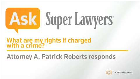 A. Patrick Roberts, Criminal Law Attorney- NC Super Lawyers