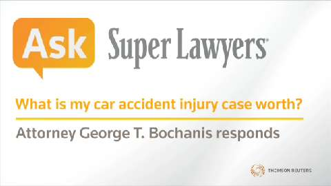 George Bochanis, Las Vegas Injury Attorney- Super Lawyers