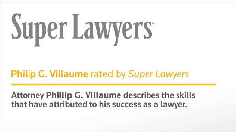 Philip Villaume, Minnesota Attorney- Super Lawyers